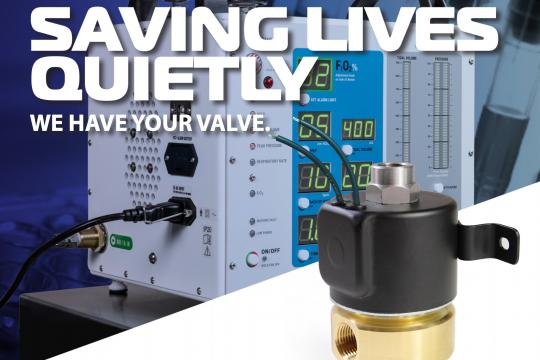 PeterPaul Series 70 Ventilator Valve
