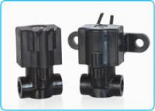 All-Plastic 3-Way Normally Closed Valve (exhaust to atmosphere)
