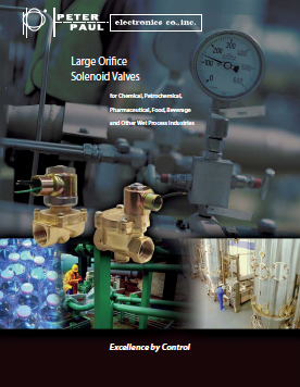 Large Orifice Solenoid Valve Brochure